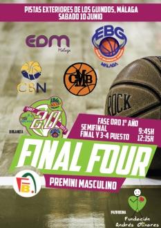 Final Four EBG Premini ORO 1º
